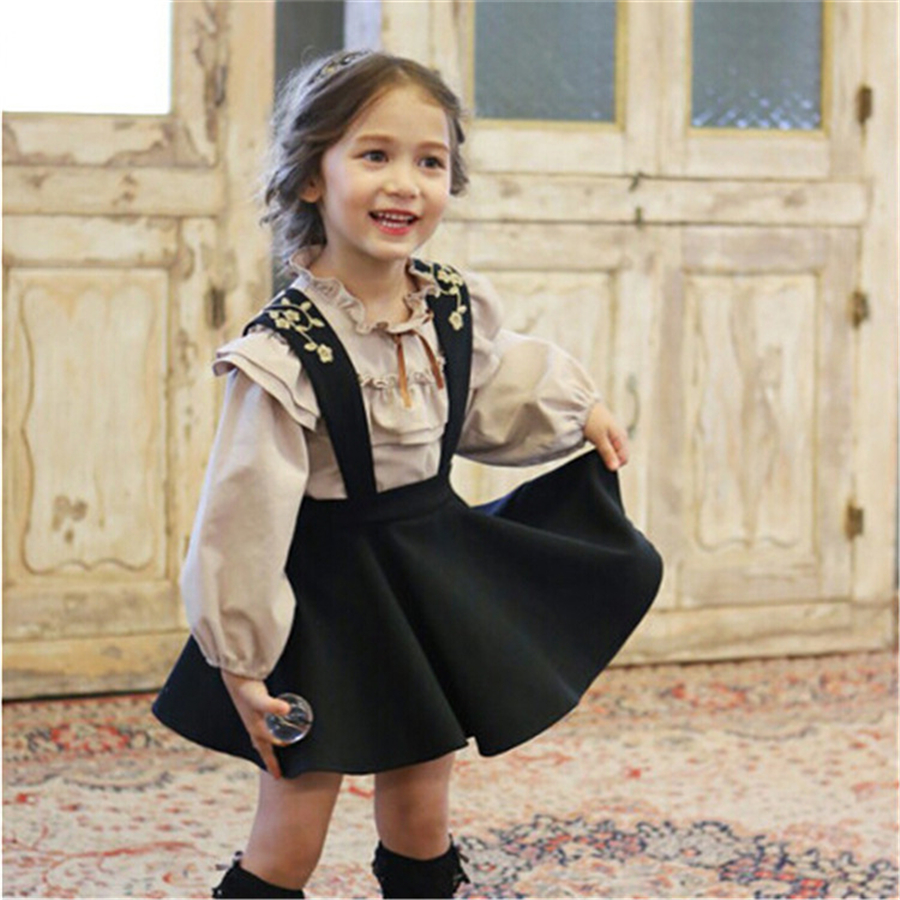Autumn Princess Dress Toddler Cute Clothes Lolita The Girl Child Dresses Elegant Party Costume Designer Children Dress 70C1010 new 2016 designer girl autumn
