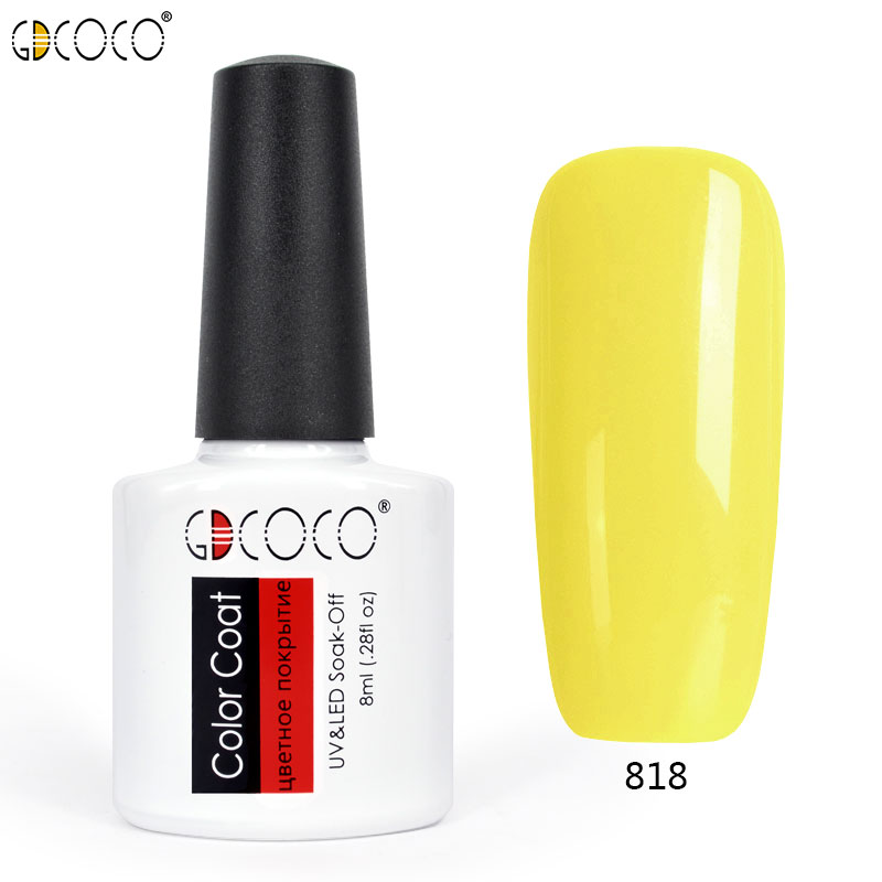 #70312 gdcoco piant venalisa 30 colors nail art diy soak off gel uv led 8ml nail enamel UV nail gel polish lacquer gel varnish
