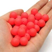 30pcs/Box Pop Ups Carp Fishing Bait Boilies Flavors 12mm Floating ball beads feeder Artificial Carp baits lure/ hair rig