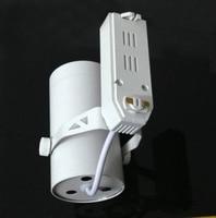 Wholesale CREE Chip White Shell High Brightness 220v 3w LED Track Rail Lighting 4pcs Lot