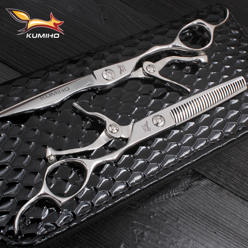 KUMIHO 2017 New Arrival Hair Scissors Kit Professional Hair Cutting And Thinning Scissors 6 Inch Hair Shears With Open Handle