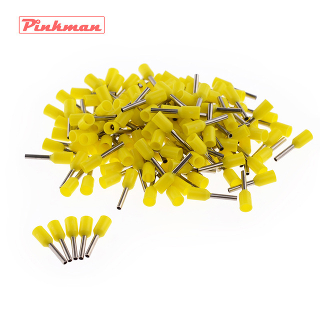 20/50/100pcs E7508 Tube insulating terminals AWG 20 Insulated Cable Wire 0.75mm2 Connector Insulating Crimp Terminal Connect