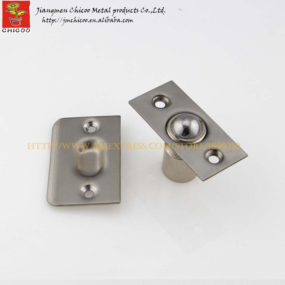 Hi Q Stainless steel 304 cylindrical adjustable door catches,cabinet door  catch,kitchen door catches,Furniture door stopper-in Cabinet Catches from  Home ...
