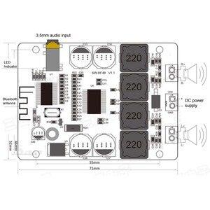 Image 2 - Mini TPA3118 بلوتوث مكبر كهربائي رقمي مجلس 2x30 واط ستيريو مكبر الصوت 8 26 فولت تيار مستمر H2 001