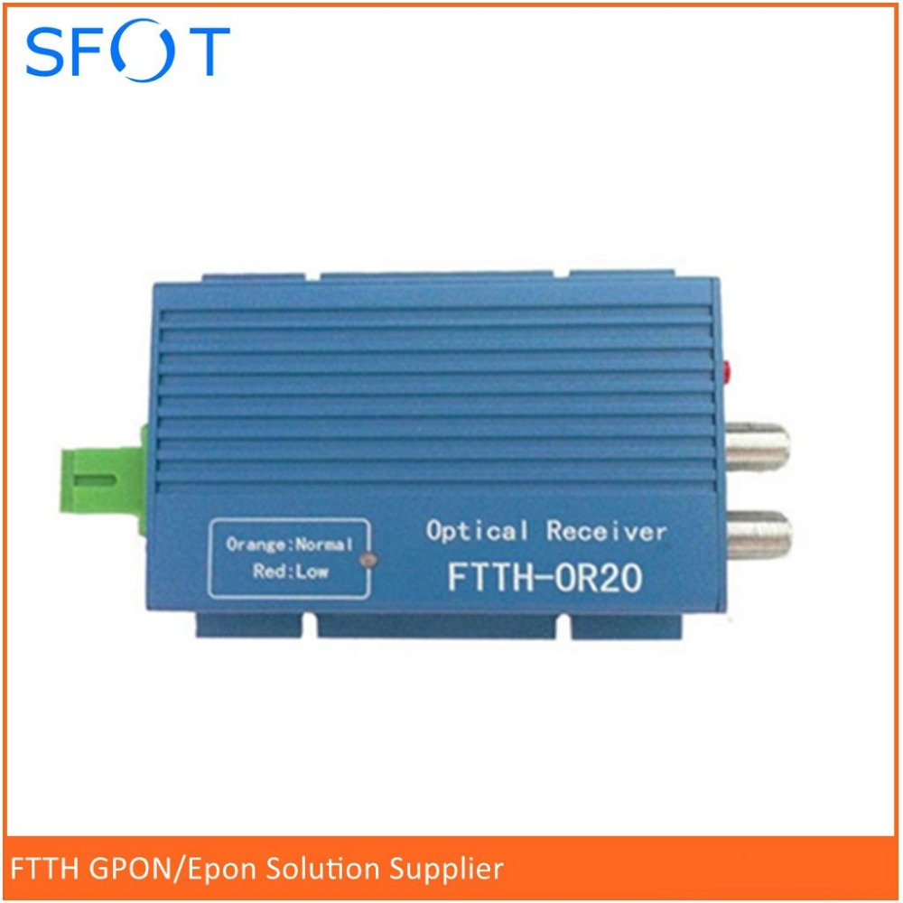 ftth wdm sc apcor20a optical receiver single ftth fiber to the home cable tv small light machine sc connector [ 1000 x 1000 Pixel ]