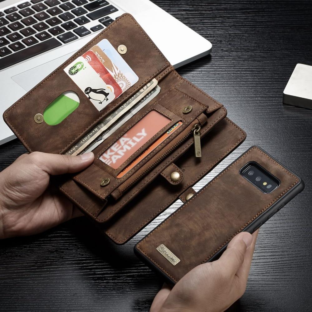 For Funda Samsung Galaxy S10 Case Zipper Wallet Folio