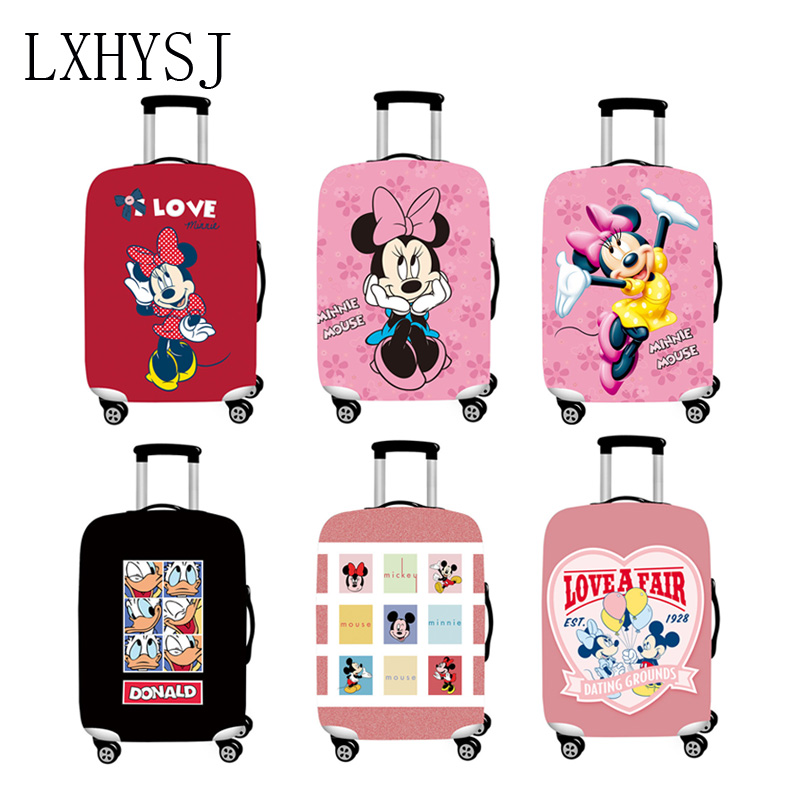 The New Elasticity Luggage Cover Suitcase Protective Sleeve Suitable For 18-32 Inch Trolley Case Dust Cover Travel Accessories