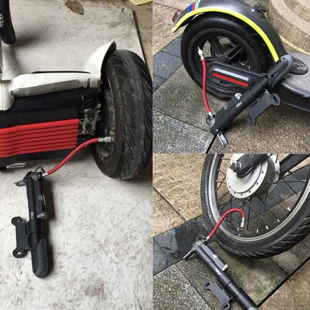 Мини Портативный Xiaomi Mijia M356 электрический скутер скейтборд Велоспорт воздушный насос шин Надувное для Xiaomi Ninebot Pro шин воздушный насос
