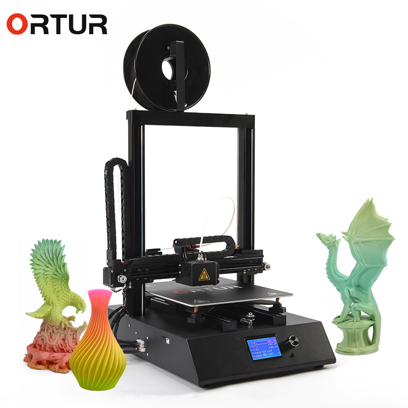 Ortur 4 Resume Printing 3d Metal Printer 12864 Large Screen Impressora 3d 9 Point Hot Bed