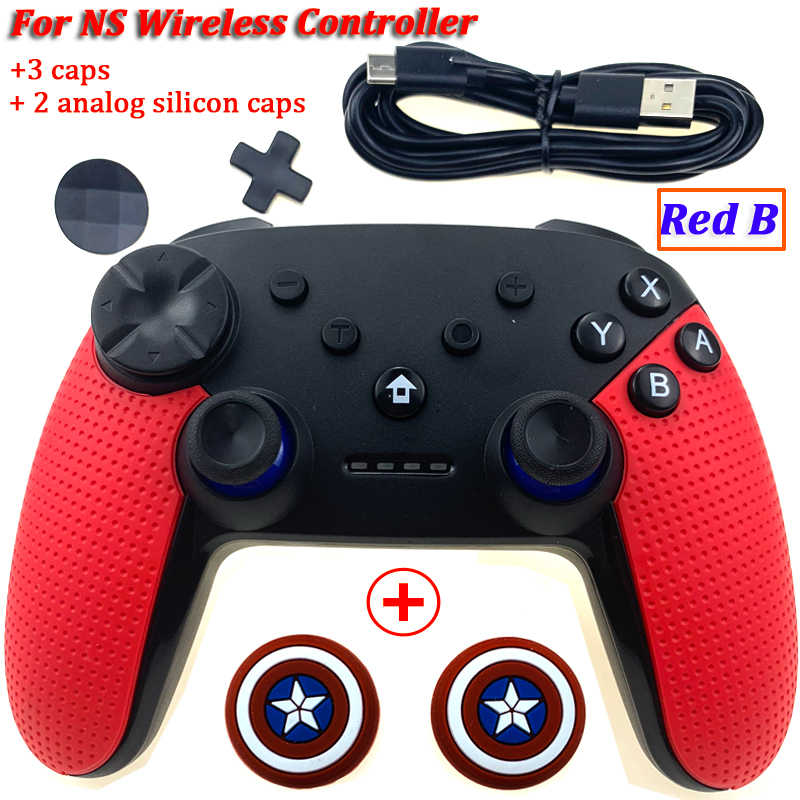 Draadloze Game Controller Joystick Voor Nintend Switch Console Bluetooth Gamepad Pro Joypad Voor Android/Pc Accessoires Controller