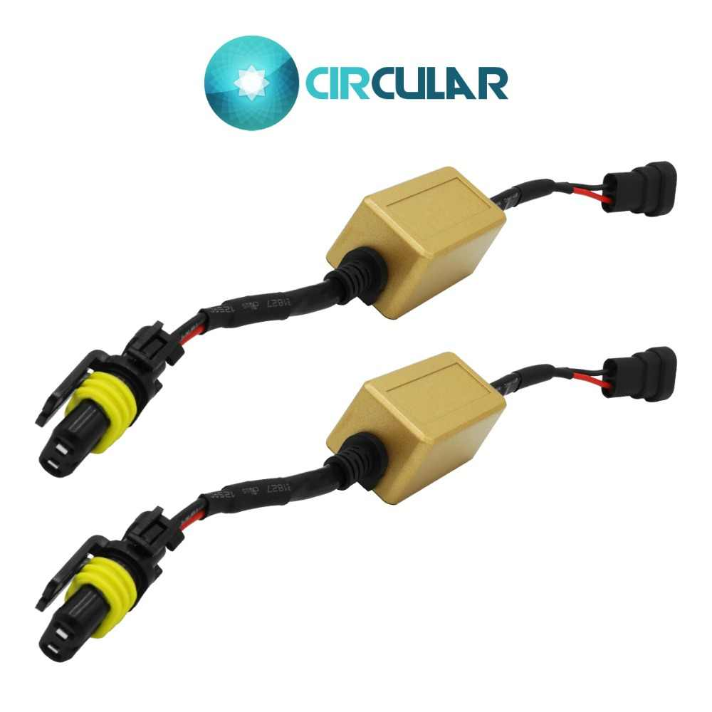 Only for Jeep Cherokee 9012 Canbus No Error Hi Lo Beam LED Headlight Blub Decoder Wiring Harness AUTO DC 12V