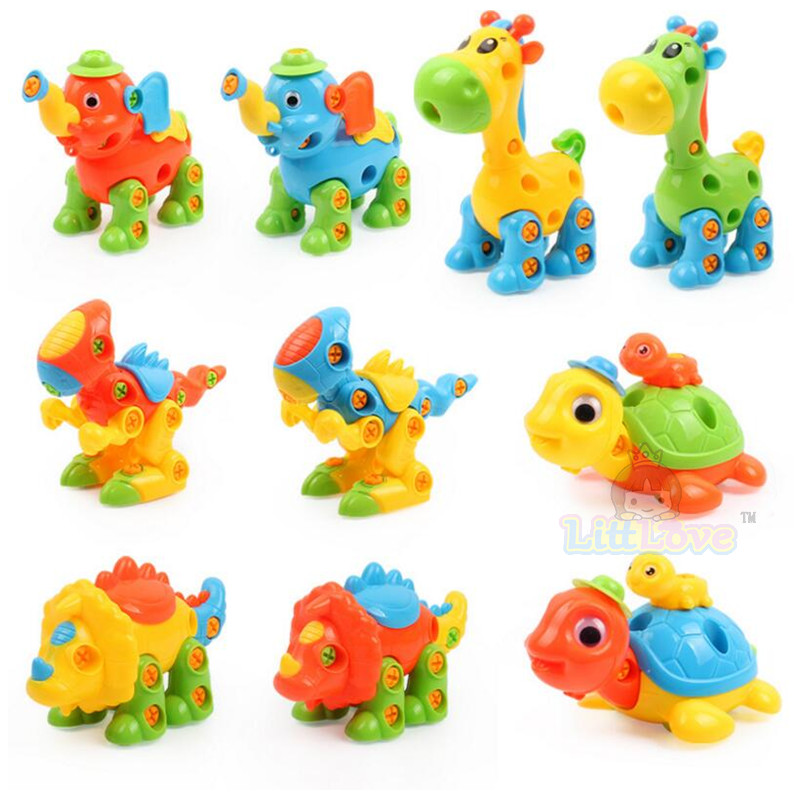 LittLove Dječje životinje Puzzle Obrazovne Igračke Djeca - Izgradnja igračke - Foto 2