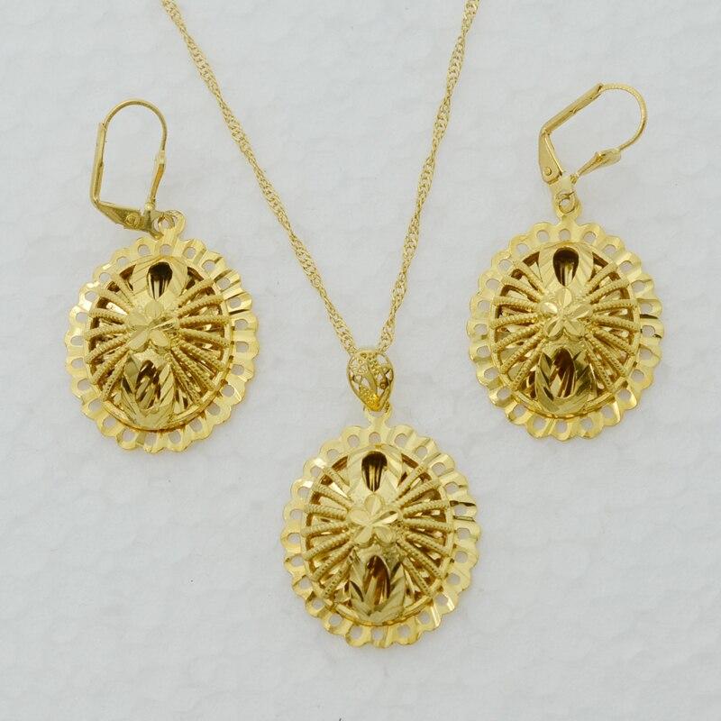 Anniyo indian jewelry set Pendant Necklace/Earrings for Women Girl ...