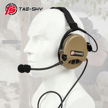 TAC-SKY TCI LIBERATOR II SORDIN Silicone earmuff version Noise reduction pickup headset-DE