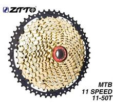 ZTTO 11s 50T SL Black Gold MTB Cassette Mountain Bike Bicycle Parts Sprockets 11 11v 22s 11 Speed Freewheel  K7 for XT X1 X01 X1 neffos x1 lite gold