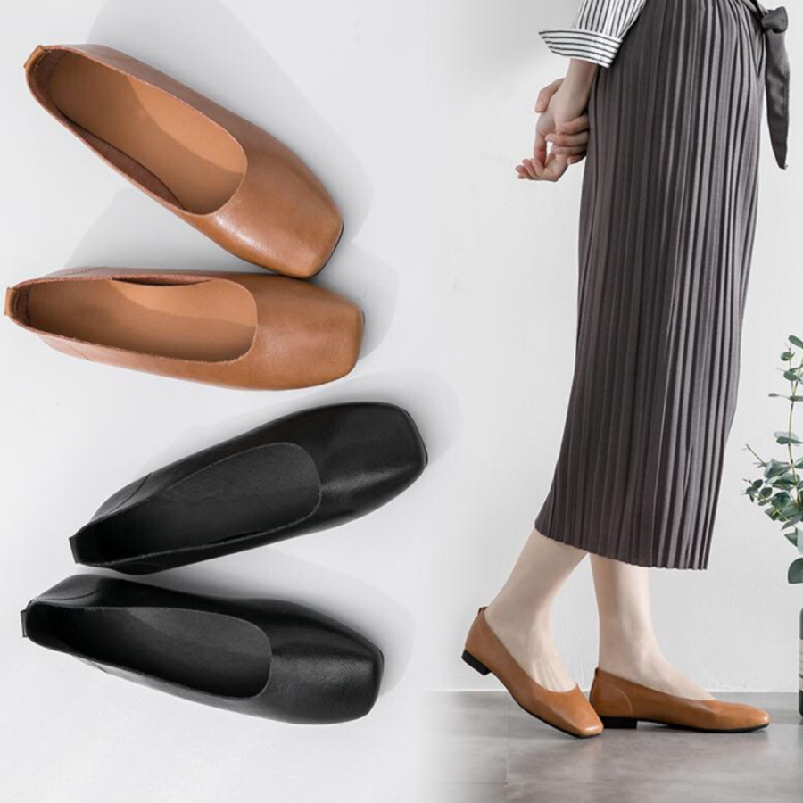 Aliexpress.com   Buy 2018 new style leather soft sole shoes Chinese mother  shoes Chinese style art shoes comfortable low heeled shoes from Reliable  Women s ... ea4c53e731fe