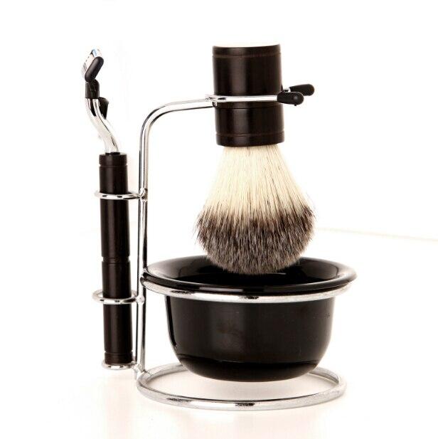 W508 maquinilla De Afeitar Manual de Los Hombres de Alta Calidad Kit de Afeitado la Barba Para Los Hombres Jefes Razor Trimmer Lavable