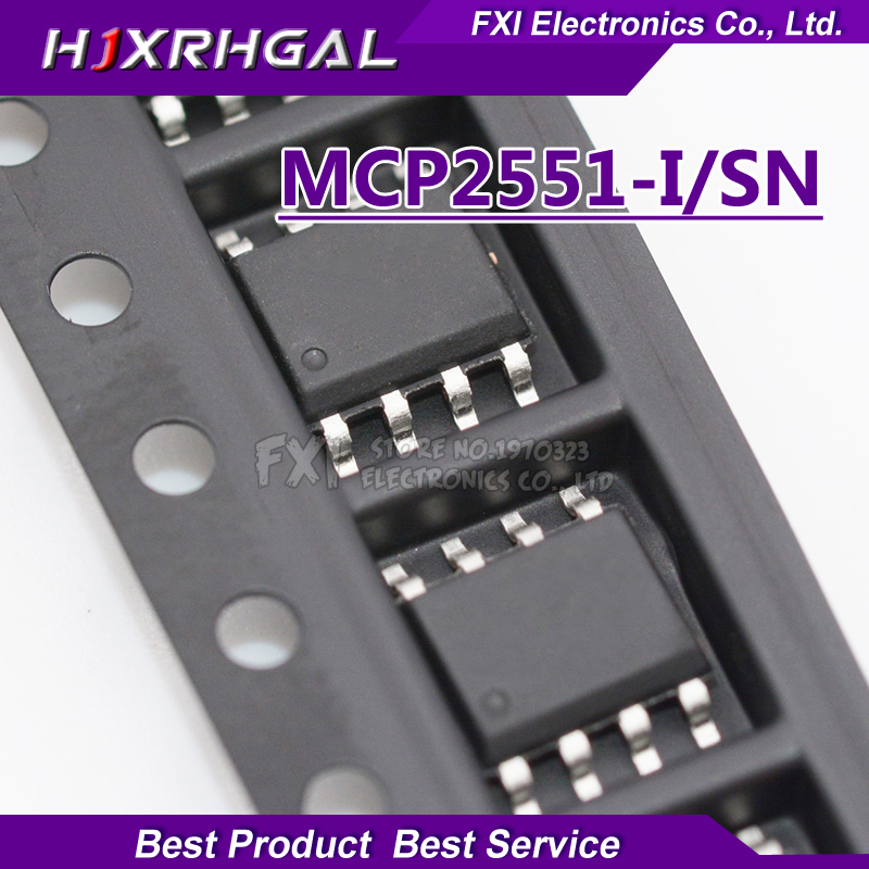On Sale 5pcs MCP2551-I/SN MCP2551 SOP8