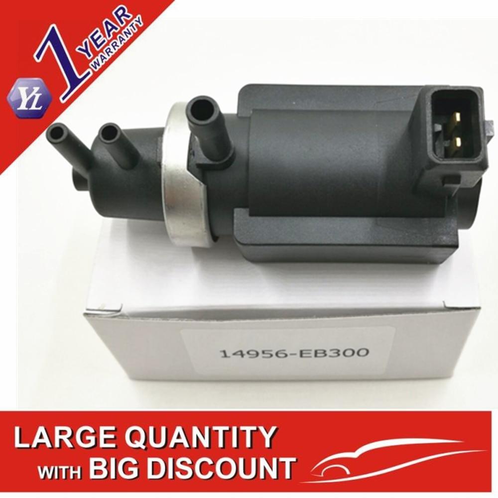 New Turbo Pressure Solenoid Valve 14956-EB300 14956-EB30A 14956-EB70B 14956-EB70A senin for Nissan Pathfinder Navara ...