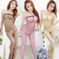 Hot sexy dress sexy women's underwear wrapped chest jump suit Siamese netting open files off the interest-free