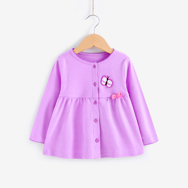 Infant Girl Baby Autumn Winter Coat Newborn Jacket Chaquetas Bebes Racien Nacido Baby Outerwear Coat Cardigan Jacket 60D001A