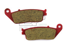 Motorcycle Parts Brake Pads For HONDA FJS 400 Silverwing 2006 2009 Rear OEM New Red Composite