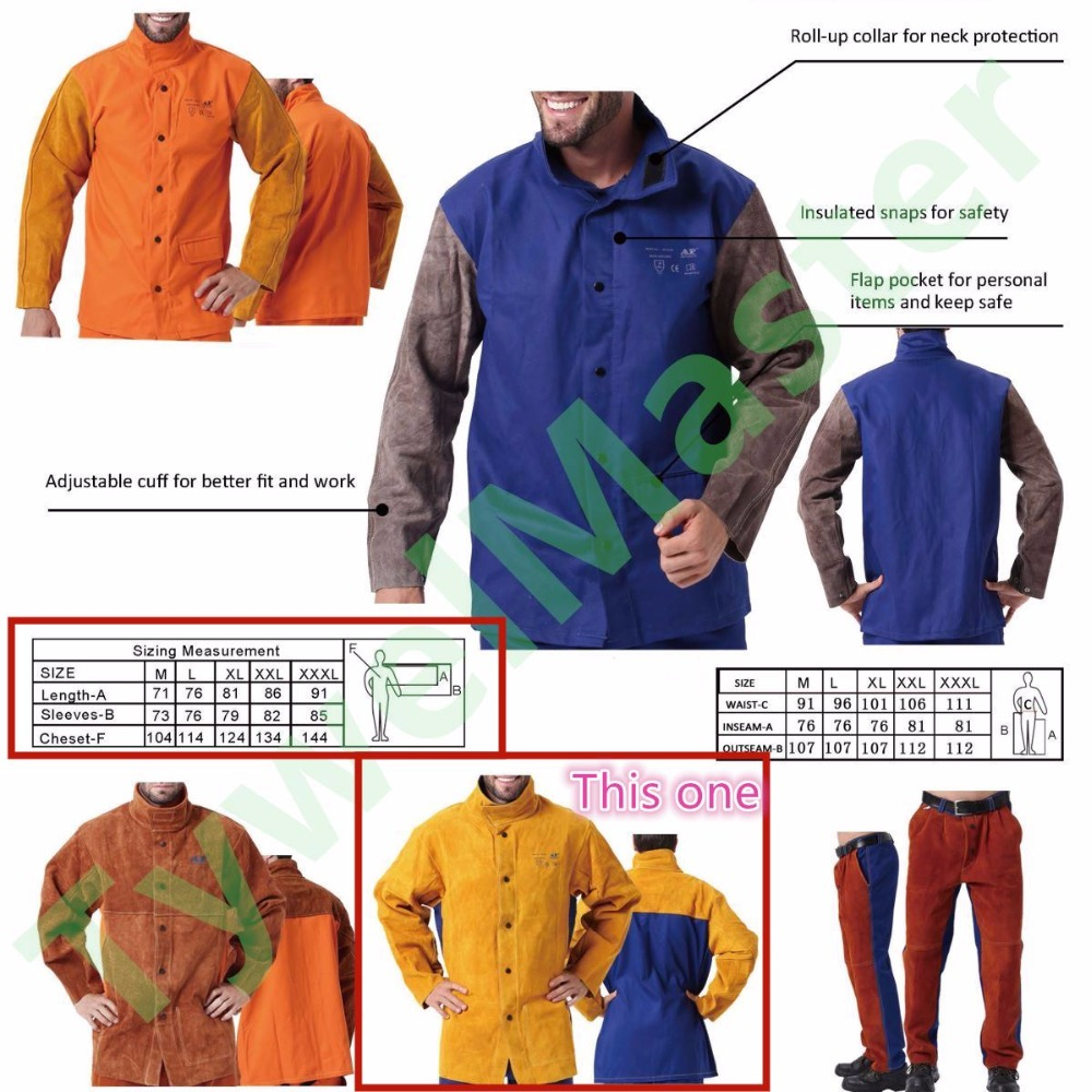 Leather & FR welding Clothing___