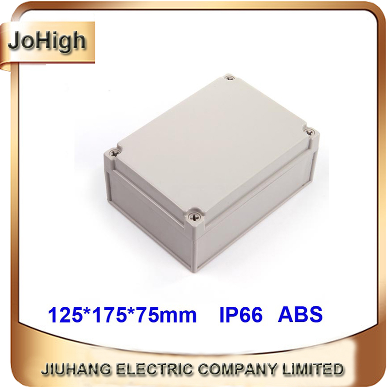 Waterproof Plastic Enclosure Box Electronic Project Instrument Case Outdoor Junction Box 125*175*75mm 1pc 85 85 50mm waterproof electronic outdoor enclosure project pcb diy junction box abs plastic case electrical connector