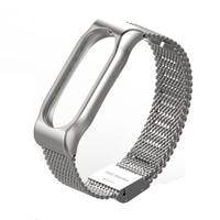 Xiaomi Mi Band 2 Strap Stainless Steel Original Mijobs Xiaomi Miband 2 Metal Strap Bracelet Screwless