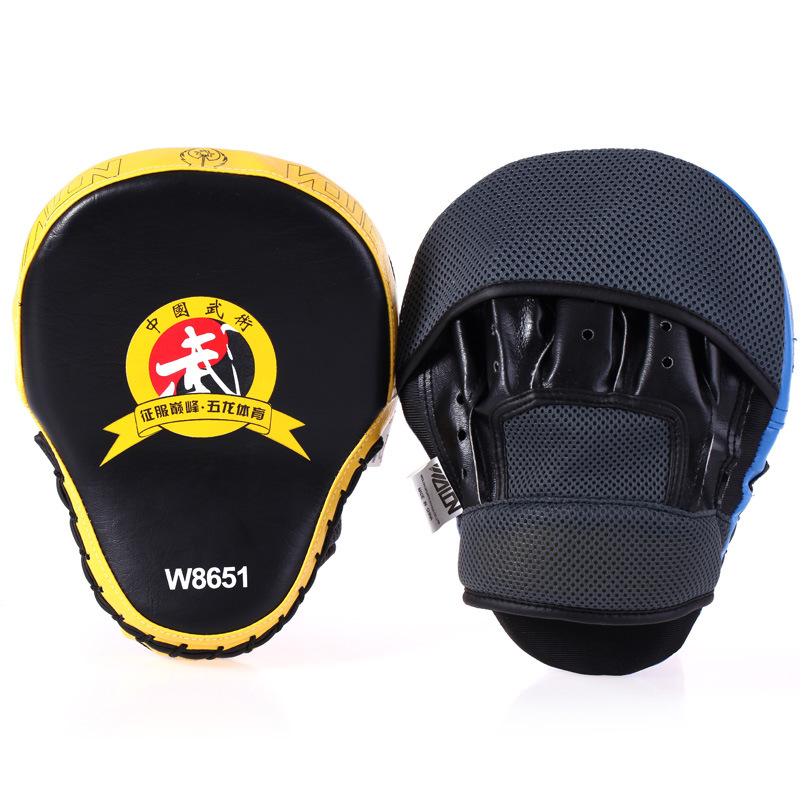MMA Focus Thai Kick Boxing Training Glove Kungfu Punch Pad Mitt Hand Target