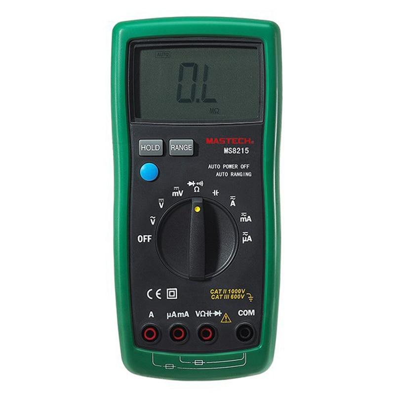 ФОТО handheld Digital Multimeter AC/DC Voltage Current Frequency Capacitance Resistance Tester Detector