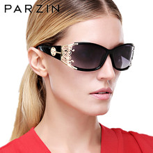 c7b21d99cc PARZIN Luxury Sunglasses Women Brand Designer Vintage Polarized Ladies Sun  Glasses For Women Lace FemaleGlasses For Driving P218