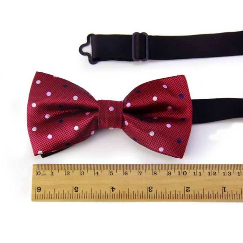 Mantieqingway Solid & Dot Bow Tie Үйлену - Киімге арналған аксессуарлар - фото 4
