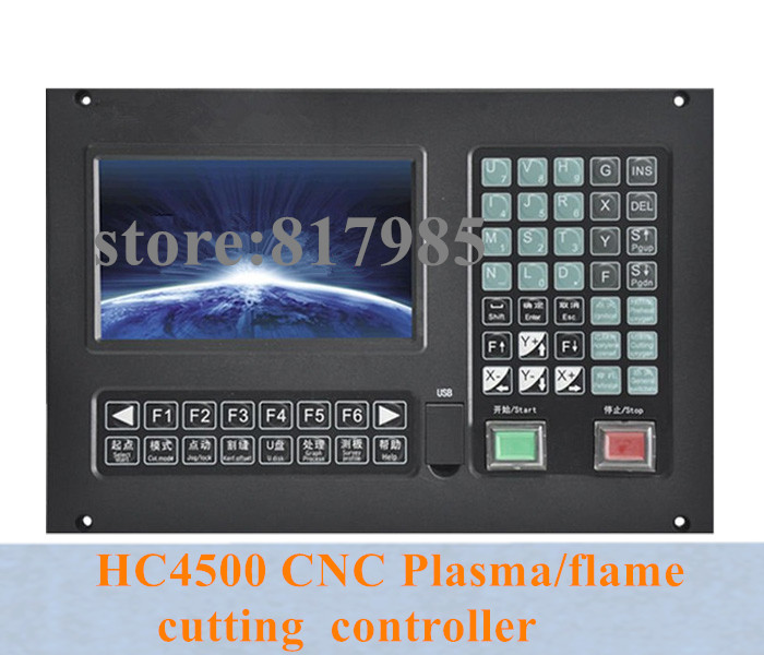 Best price HC4500 3 axis CNC Plasma flame cutting machine controller cnc cutting controller support THC controller cutting