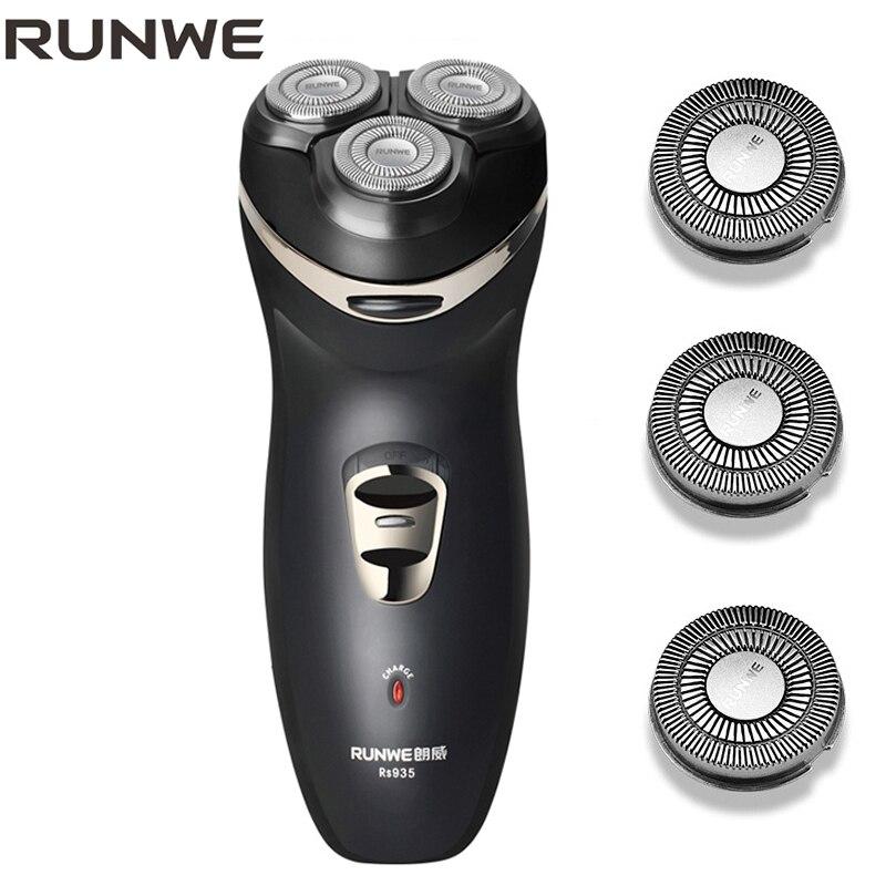 New Arrival 2018 Electric Shaver For Men Razor Rechargeable Shaver Case barbeador eletrico Elegant Black Shaving Machine philips brl130 satinshave advanced wet and dry electric shaver