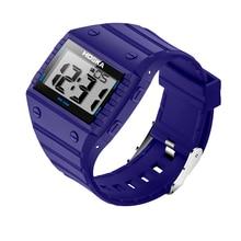 HOSKA студент женские часы led цифровые часы женские цифровые часы Плавание спорт на открытом воздухе водонепроницаемый relogio masculino H033B