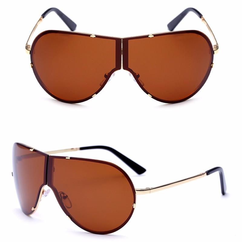 Lager Motorcycle Sunglassses Men Women Oversize Frameless Sunglasses Foldable Glasses Big Moto Goggles 8487 (4)