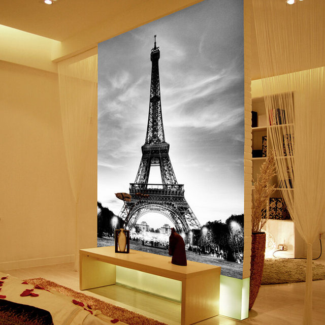 Online Shop Custom 3D Wall Mural Photo Wallpaper Eiffel Tower Paris