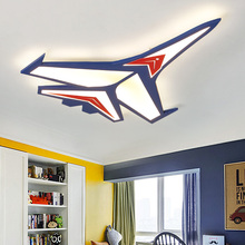 Modern karikatür uçak tavan lambası LED çocuk çocuk bebek odası yatak odası tavan ışıkları ev kapalı yüzeye monte aydınlatma armatürleri