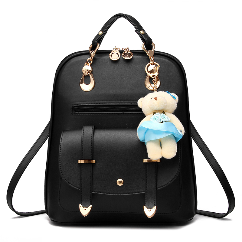 Mochila Escolar Feminina Backpack Mochilas Escolar Women Bags Bolsa Leather Bag Luxury Designer 2017 New