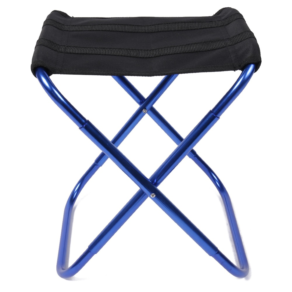 Portable Folding Chairs Aluminium Alloy Outdoor Picnic Camping Hiking Fishing BBQ Garden Stool Foldable Chair Seat Wholesales portable light weight folding camping hiking folding foldable stool tripod chair seat for fishing festival picnic bbq beach