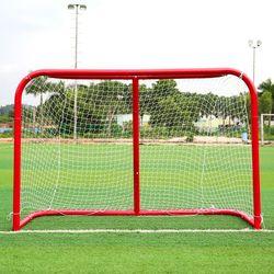 ¡Caliente! Deportes Mini Hockey Goal al aire libre/interior niños Deportes Fútbol y Hockey sobre hielo objetivos con bolas y Pump práctica Scrimmage juego