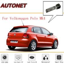 AUTONET камера заднего вида для Volkswagen Polo MK4 6Q/9N/9N3/CCD/ночное видение/камера заднего вида/камера резервного копирования/камера номерного знака