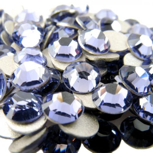SS20 TANZANITE color 1440pcs Non Hotfix Rhinestones 4.6mm 20ss crystal flatback Nail Art Rhinestones