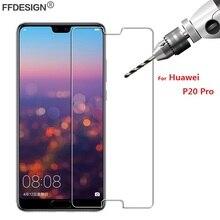 Protector de vidrio templado para pantalla de móvil, película protectora de vidrio para Huawei P20 Pro, Huawei P20 Pro