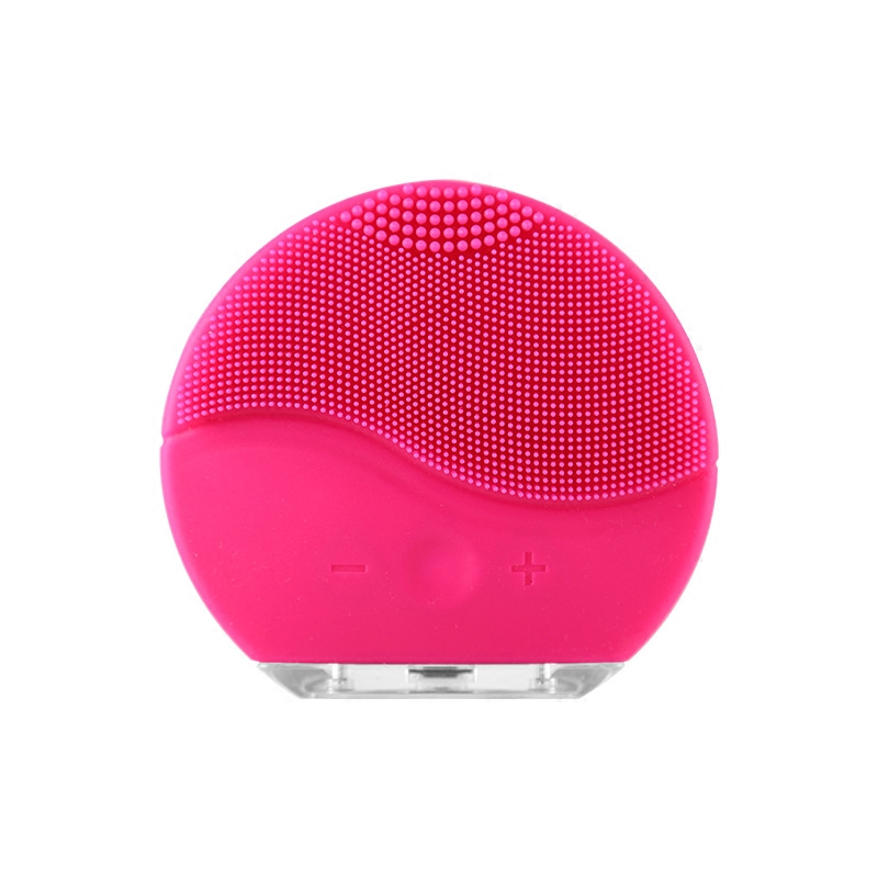 Elektrische Gesichts Reinigung Pinsel Silikon Sonic Vibration Mini Reiniger Deep Pore Reinigung Haut Massage gesicht pinsel reinigung
