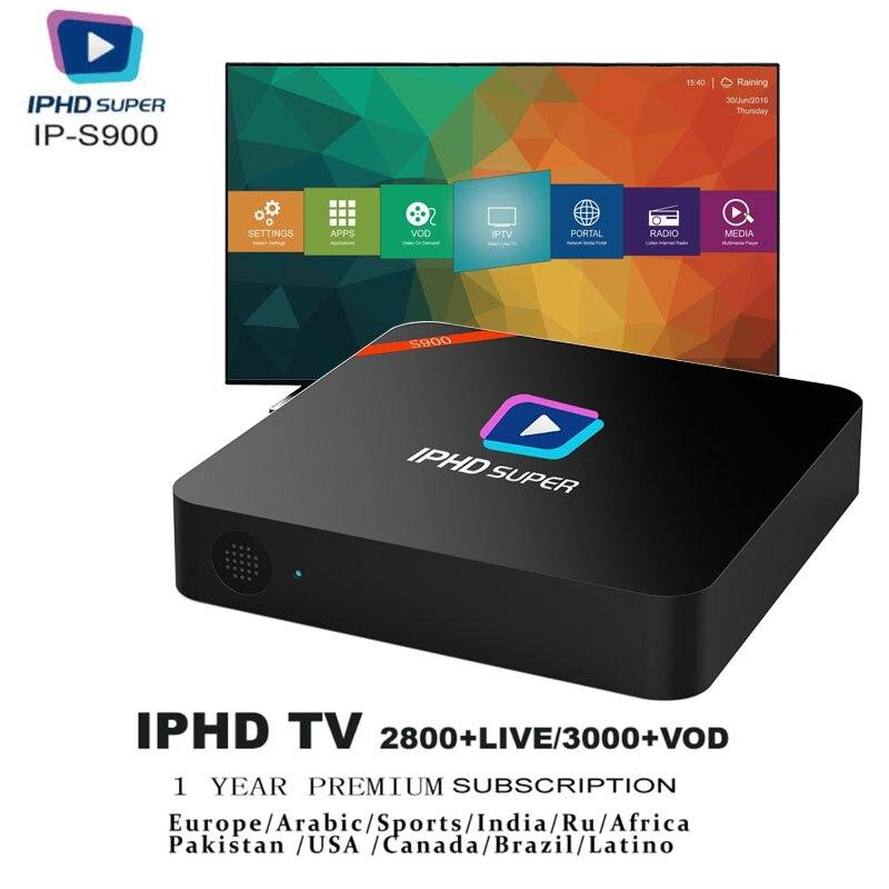 S900 IPTV поле Iptv подписки Incloud 2800 + Live Каналы/3000 + VOD один год бесплатная Услуги включены Европа IPTV/арабский IPTV