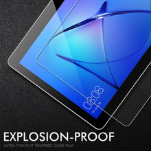 9H Tempered Glass For Huawei MediaPad T3 8.0 10 inch T1 7.0 8.0 inch T1 10 9.6 inch T5 10 C5 Screen Protector Protective Film(China)