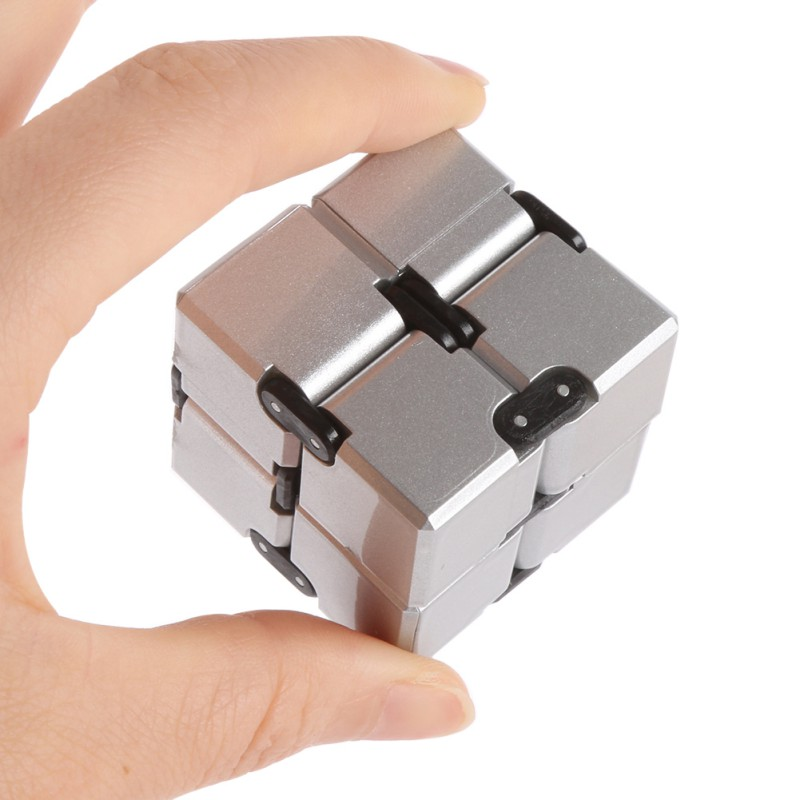 Finger EDC Anxiety Stress Good Infinity Cube Mini Fidget Toy Relief Magic Cube Blocks Adult Children Kids Toys Funny Toys