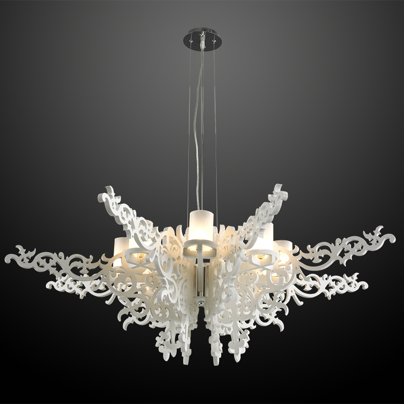European Home Luminaire Pendant Lights Angel Wings Lamp Fixtures Restaurant Coffee Lustre Para Quarto LED G9 Luxury Hanglamp creative crystal pendant lamp modern luxury pendant light fixtures designer light lustres para quarto lustre pendente